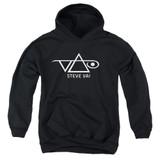 Steve Vai Logo Youth Pullover Hoodie Sweatshirt Black