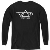 Steve Vai Logo Youth Long Sleeve T-Shirt Black