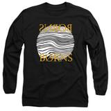 Borns Thumbprint Adult Long Sleeve T-Shirt Black