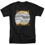 Borns Thumbprint Adult 18/1 T-Shirt Black