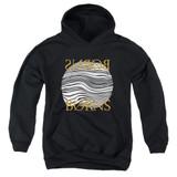 Borns Thumbprint Youth Pullover Hoodie Sweatshirt Black