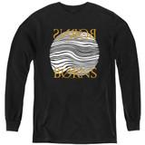 Borns Thumbprint Youth Long Sleeve T-Shirt Black