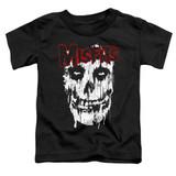 Misfits Splatter Toddler T-Shirt Black