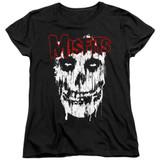 Misfits Splatter Women's T-Shirt Black