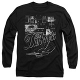 The Darkness Pedal Board Adult Long Sleeve T-Shirt Black