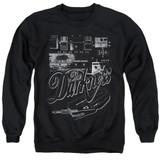The Darkness Pedal Board Adult Crewneck Sweatshirt Black