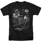 The Darkness Pedal Board Adult 18/1 T-Shirt Black