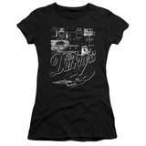 The Darkness Pedal Board Premium Junior Women's Sheer T-Shirt Black