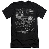 The Darkness Pedal Board Adult 30/1 T-Shirt Black