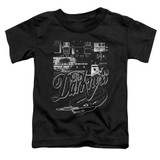 The Darkness Pedal Board Toddler T-Shirt Black