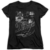 The Darkness Pedal Board Women's T-Shirt Black