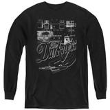 The Darkness Pedal Board Youth Long Sleeve T-Shirt Black
