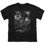 The Darkness Pedal Board Youth T-Shirt Black
