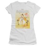 The Darkness Aloha Junior Women's Sheer T-Shirt White