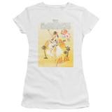 The Darkness Aloha Premium Junior Women's Sheer T-Shirt White