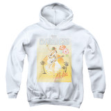 The Darkness Aloha Youth Pullover Hoodie Sweatshirt White