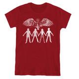 The Darkness Join Hands Women's T-Shirt Cardinal