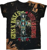 Guns N Roses Appetite Bleach Dyed Classic T-Shirt