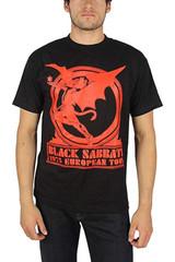 Black Sabbath Europe 75 Classic T-Shirt