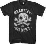 Brantley Gilbert Skull Classic T-Shirt
