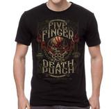 Five Finger Death Punch 100 Proof Classic T-Shirt