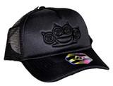 Five Finger Death Punch Black on Black Snapback Hat