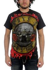 Guns N Roses Bloody Bullet Classic T-Shirt