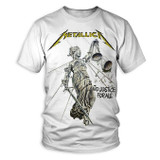 Metallica And Justice for All White Classic T-Shirt