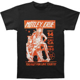 Motley Crue Vintage-Inspired Whiskey A Go Go Classic T-Shirt