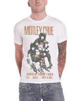 Motley Crue Vintage-Inspired World Tour 1983 Classic T-Shirt