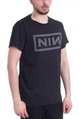 Nine Inch Nails Grey NIN Logo Classic T-Shirt