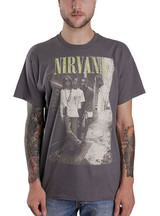 Nirvana Brick Wall Alley Photo Classic T-Shirt