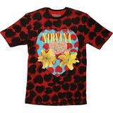 Nirvana Heart Shaped Box Men's Dye Classic T-Shirt