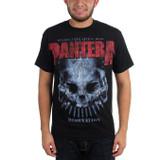 Pantera Domination Distressed Print Classic T-Shirt