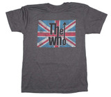 The Who Union Jack Logo Classic T-Shirt