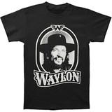 Waylon Jennings Tour 79 Black Classic T-Shirt