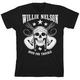 Willie Nelson Skull Classic T-Shirt
