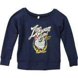 Zac Brown Band Chicken Fried Off the Shoulder Women's Pullover Sweatshirt