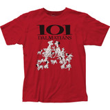 101 Dalmatians Fitted Jersey Classic T-Shirt