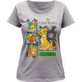 The Lion King Collage Women's Scoopneck Classic T-Shirt