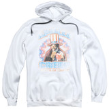 Mgm/Rocky Apollo Creed Adult Pullover Hoodie Sweatshirt White