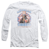 Rocky Apollo Creed Adult Long Sleeve T-Shirt White