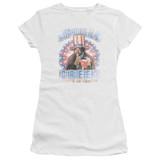 Rocky Apollo Creed Junior Women's Sheer T-Shirt White