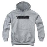 Rocky Adrian Youth Pullover Hoodie Sweatshirt Athletic Heather