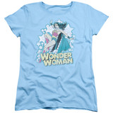 Wonder Woman I'm Wonder Woman Women's Original T-Shirt Light Blue