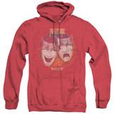 Motley Crue Theatre Of Pain Adult Heather Hoodie Sweatshirt Red
