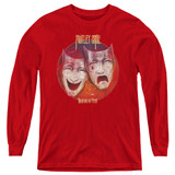 Motley Crue Theatre Of Pain Youth Long Sleeve Classic T-Shirt Red