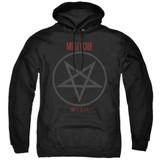 Motley Crue Shout At The Devil Adult Pullover Hoodie Sweatshirt Black