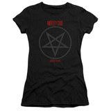 Motley Crue Shout At The Devil Premium Junior Women's Classic T-Shirt Black