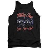 Motley Crue Girls Adult Tank Top Classic T-Shirt Black
